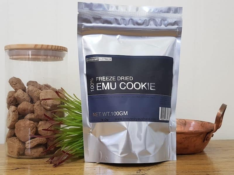Freeze Dry Australia Emu Cookies