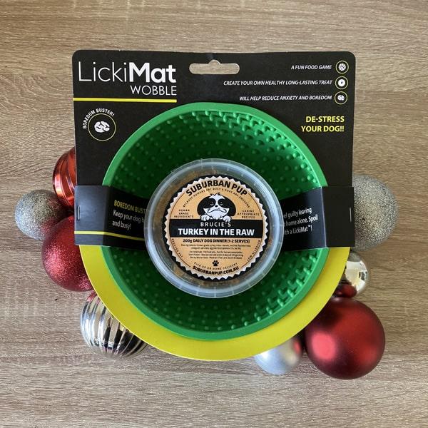 Christmas Licks! Lickimat & Suburban Pup Combo