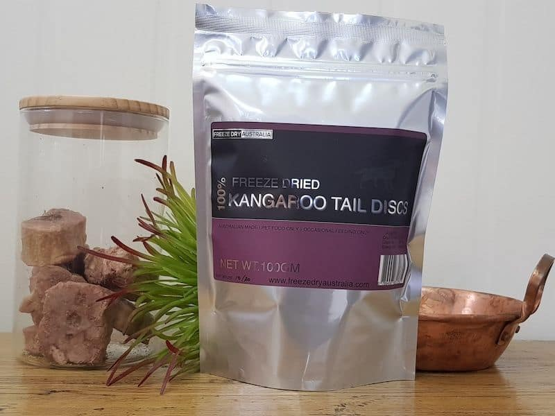 Freeze Dry Australia Kangaroo Tail Disks